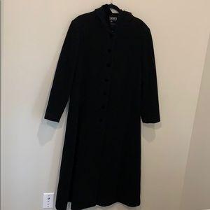 Halston Full Length Wool Coat